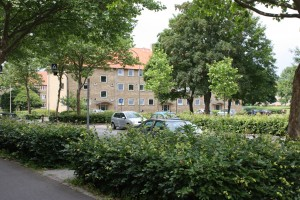 Etagehusene, Lyngby
